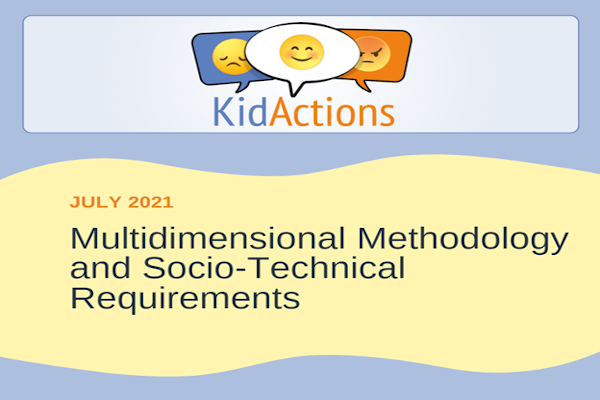 New report out! KID_ACTIONS Methodology and Socio-technical Requirements